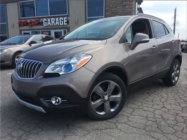 2014 BUICK ENCORE 2 TONE LEATHER REMOTE START BUICK LEASE RETURN in St Catharines, Ontario