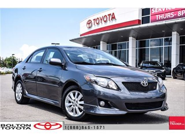 used 2010 toyota corolla 4 door sedan s 4a auto a c fogs. Black Bedroom Furniture Sets. Home Design Ideas