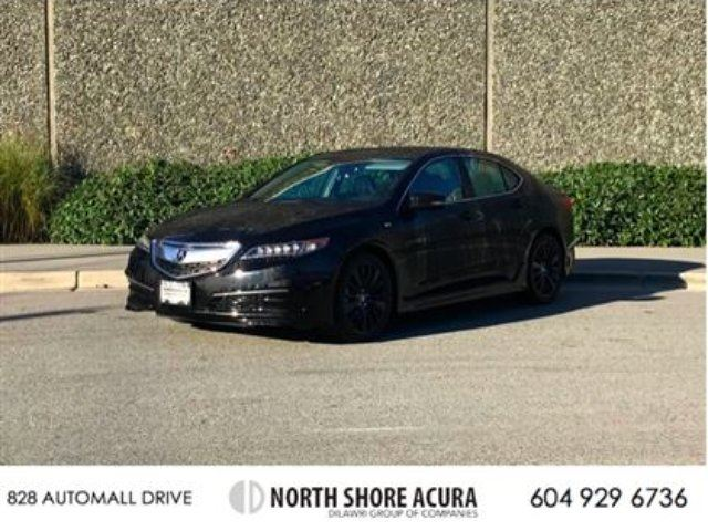 2016 Acura TLX 3.5L SH-AWD w/Tech Pkg LOW KMS! AS NEW! in North Vancouver, British Columbia