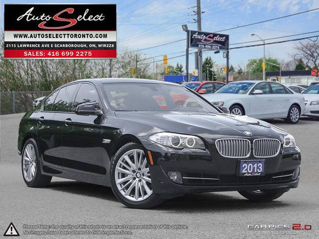 2013 BMW 550i xDrive AWD ONLY 68K! **HEADS UP DISPLAY** TECHNOLOGY PKG in Scarborough, Ontario