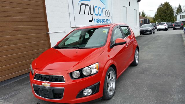 2012 CHEVROLET SONIC LTZ in Kingston, Ontario
