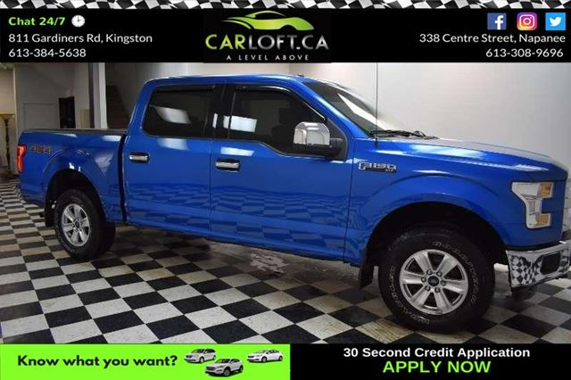 2015 FORD F-150 XLT SUPERCREW 4X4 in Kingston, Ontario