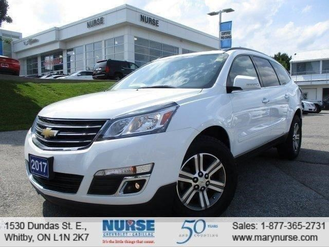 2017 Chevrolet Traverse LT in Whitby, Ontario