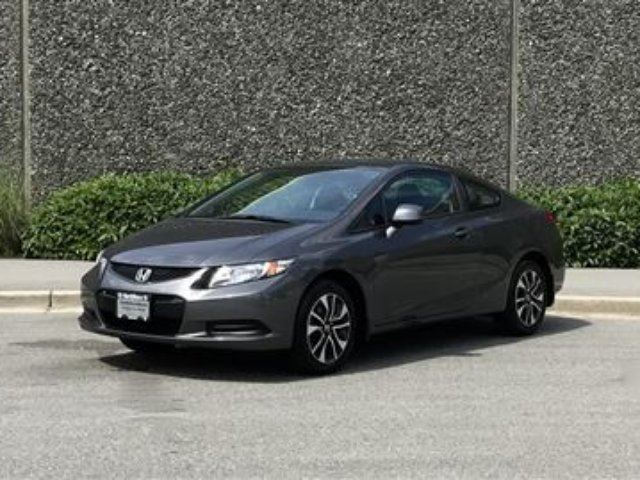 2013 Honda Civic Coupe EX 5AT Full Factory Warranty Until SEP 28, 2 in North Vancouver, British Columbia