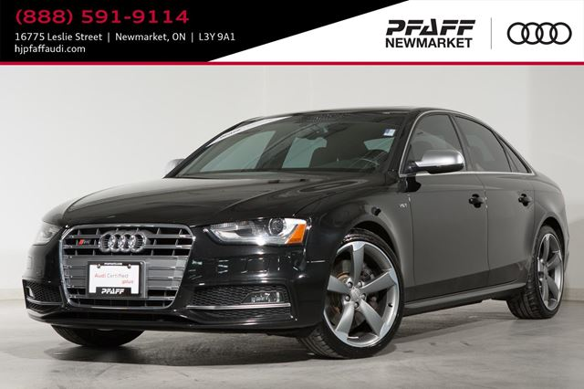 2016 Audi S4 3.0T Technik plus NEW TIRES! BANG & OLUFSEN SOUND SYSTEM in Newmarket, Ontario
