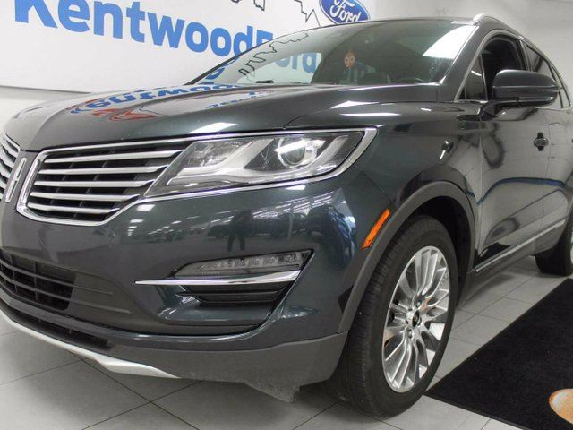 2015 LINCOLN MKC MKC 2.0L AWD ecoboost, NAV, sunroof, back up cam, heated/cooled front seats, heated back seats, heated steering wheel! in Edmonton, Alberta