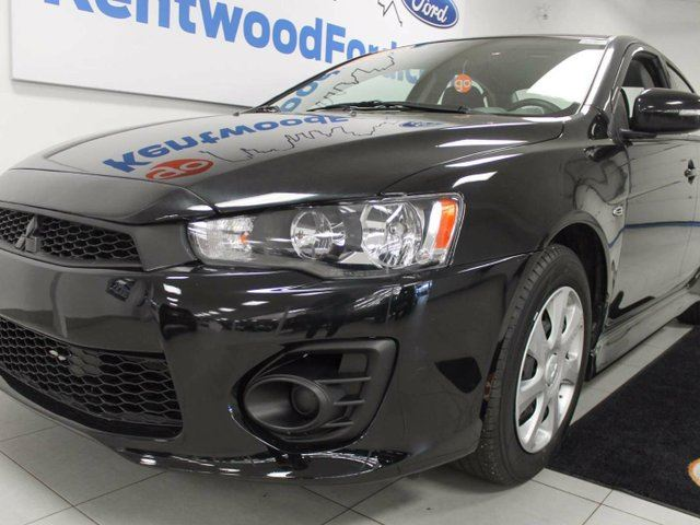 2017 MITSUBISHI LANCER ES with heated seats and back up cam! Let's go! in Edmonton, Alberta
