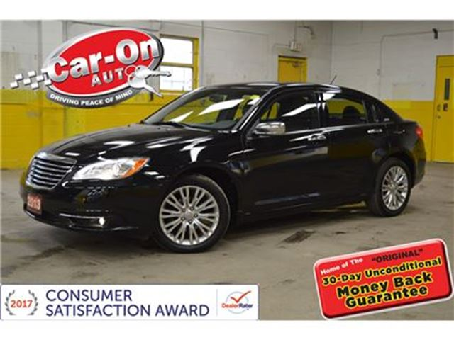 2013 CHRYSLER 200 LIMITED LEATHER SUNROOF REMOTE STARTER in Ottawa, Ontario