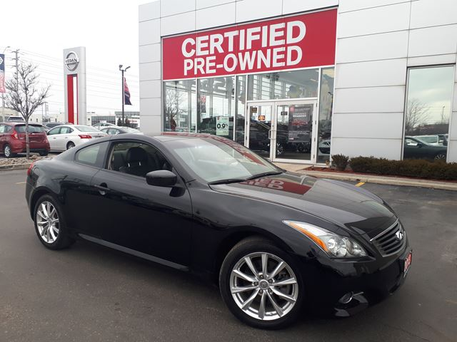 2013 INFINITI G37 LOADED,LEATHER,AWD,COUPE in Brampton, Ontario