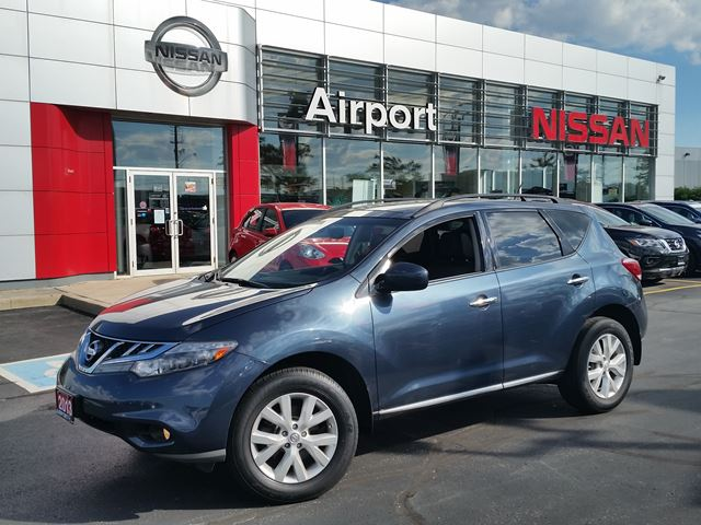 2013 Nissan Murano SL, LOADED,LEATHER,ROOF,PL,PW in Brampton, Ontario