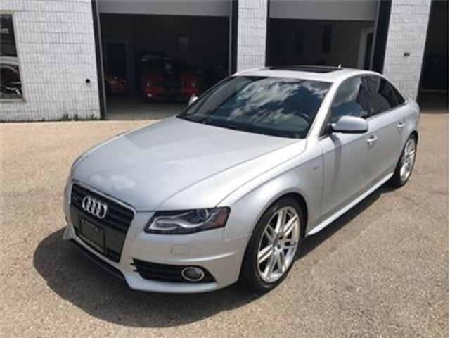 2010 AUDI A4 2.0T Premium (M6) S-Line Sunroof Wheels in Guelph, Ontario
