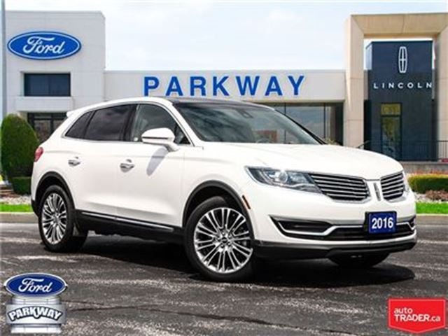2016 LINCOLN MKX AWD  ACCIDENT FREE   1-OWNER   $313 BIWEEKLY in Waterloo, Ontario
