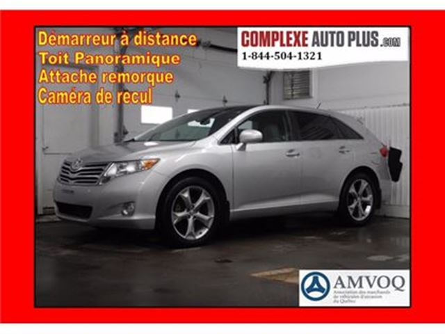2011 Toyota Venza AWD Touring V6 *Cuir/Toit pano. /4x4 in Saint-Jerome, Quebec
