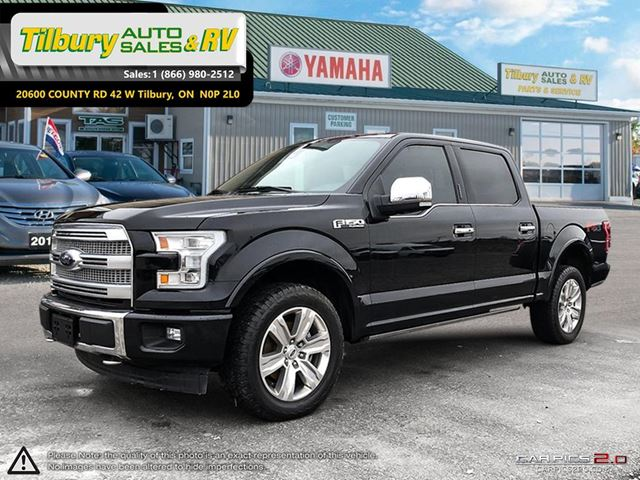 2017 FORD F-150 Platinum **WEEKLY PAYMENTS AS LOW AS $219** in Tilbury, Ontario