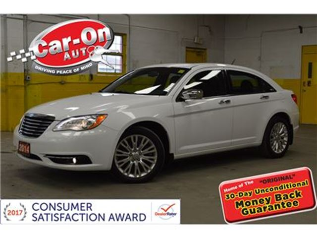 2014 CHRYSLER 200 LIMITED LEATHER SUNROOF REMOTE STARTER in Ottawa, Ontario