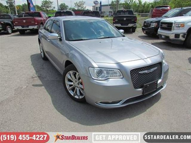 2015 CHRYSLER 300 PLATINUM   LEATHER   SUNROOF   NAV in London, Ontario