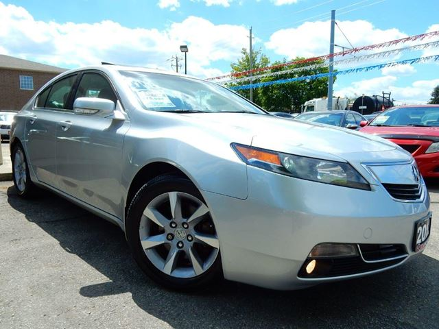 2012 ACURA TL PREMIUM  LEATHER.ROOF  ACCIDENT FREE in Kitchener, Ontario