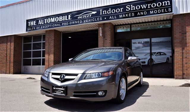 2008 Acura TL NAVI BACK-UP NO ACCIDENT in Mississauga, Ontario