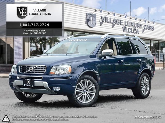 2014 Volvo XC90 3.2 Platinum PREVIOUS ONE OWNER | CLEAN CARPROOF HISTORY | BLIND SPOT ASSIST | NEW CAR TRADE IN in Markham, Ontario