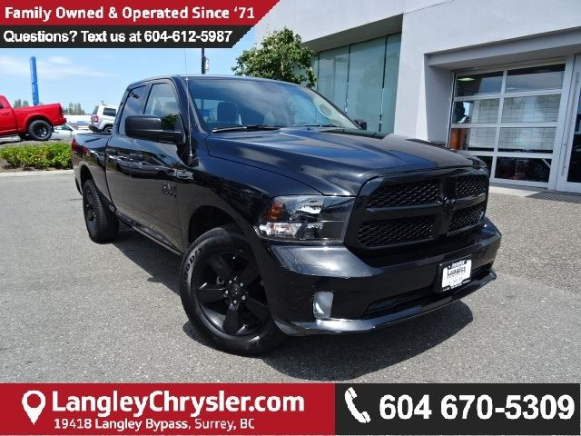2016 Dodge RAM 1500 ST w/PARKVIEW BACK UP CAMERA  & BLUETOOTH in Surrey, British Columbia