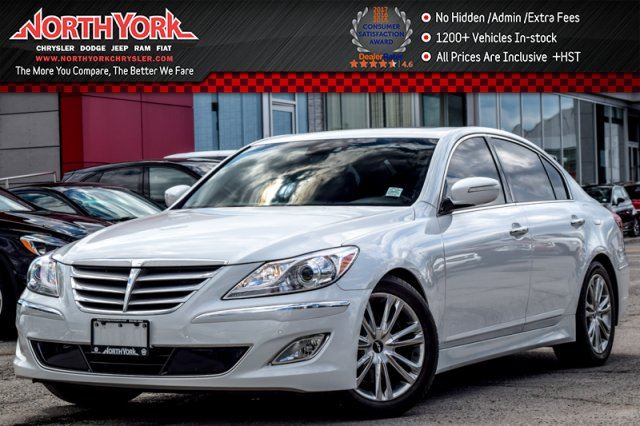 2013 Hyundai Genesis  Group3,TechPkgs Sunroof Nav LeatherSts ParkAsst. 18Alloys  in Thornhill, Ontario