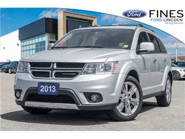 2013 DODGE Journey R/T - AWD, LEATHER, ROOF, NAVI! in Bolton, Ontario