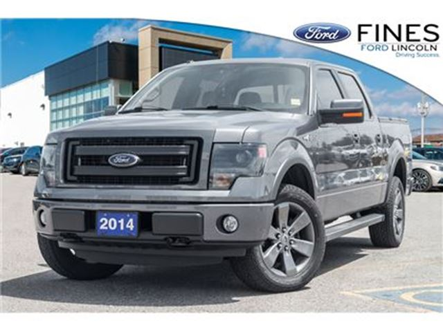 2014 FORD F-150 FX4 - LEATHER, SUNROOF, NAVIGATION in Bolton, Ontario