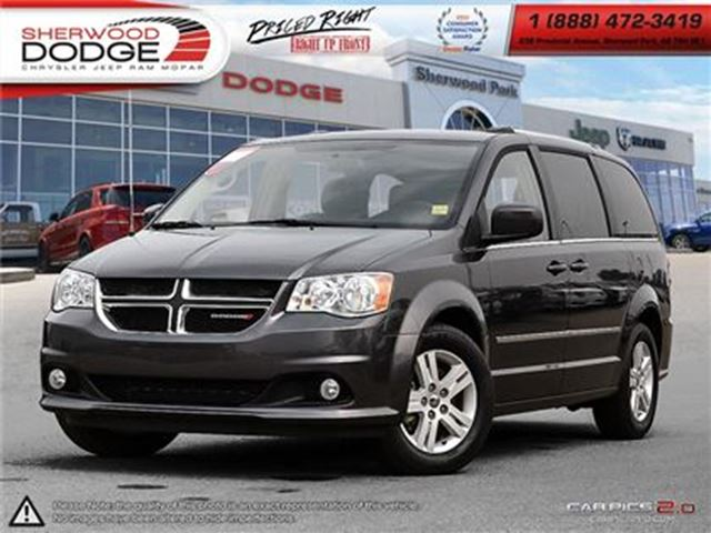 2016 Dodge Grand Caravan CREW   STOW & GO SEATING   V6 in Sherwood Park, Alberta