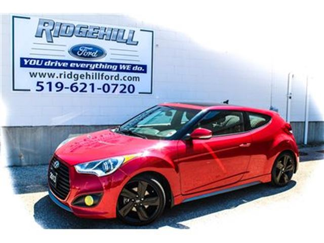 2013 Hyundai Veloster Turbo  NAV  LEATHER  SUNROOF in Cambridge, Ontario
