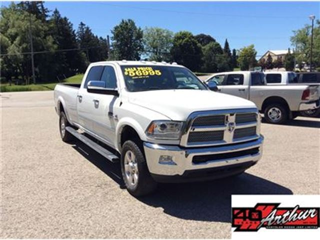 2014 DODGE RAM 3500 Longhorn Crew Cab 4x4 Long Box in Arthur, Ontario