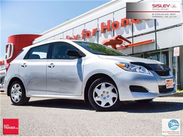 2013 Toyota Matrix Accident Free-Clean & Nice in Thornhill, Ontario