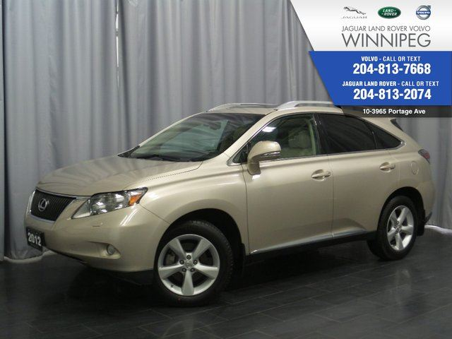 2012 LEXUS RX 350 AWD 4dr *INCLUDES FREE COMPUSTAR REMOTE START* in Winnipeg, Manitoba