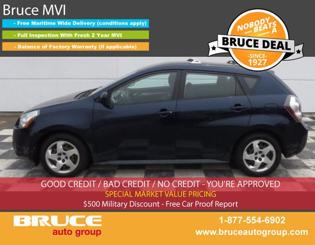 2009 Pontiac Vibe SE 1.8L 4 CYL AUTOMATIC FWD 5D HATCHBACK in Middleton, Nova Scotia