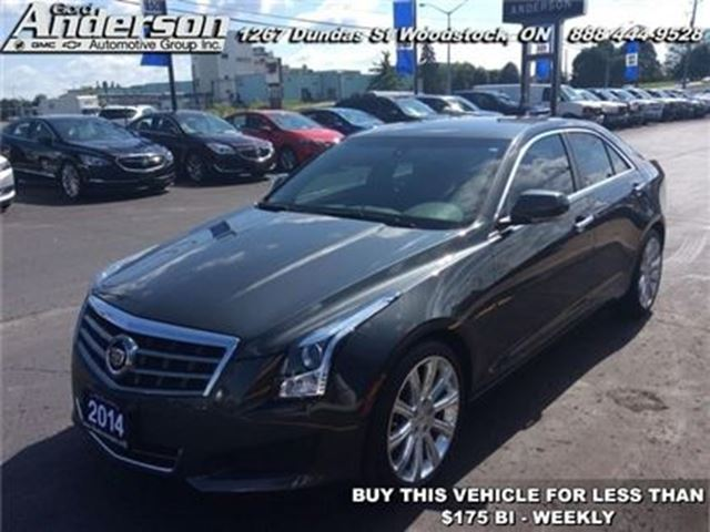 2014 CADILLAC ATS 2.0 Turbo Luxury - Leather Seats -  Bluetooth -  H in Woodstock, Ontario