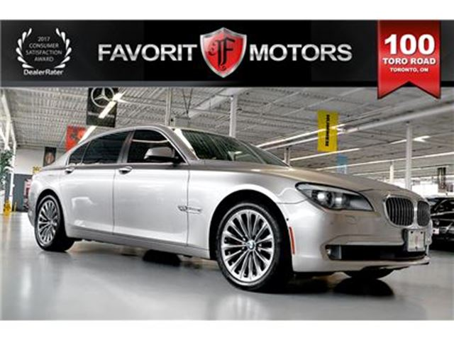 2012 BMW 7 Series 750 Li   NAVIGATION   360° CAMERA   NIGHT VISION in Toronto, Ontario