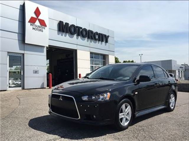 2013 MITSUBISHI LANCER -Leather - Premium Audio - Sunroof - in Whitby, Ontario