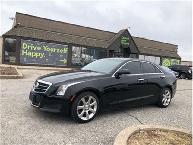 2014 CADILLAC ATS Luxury RWD/LEATHER/NAV/HEATED SEATS/OFF LEASE in Fonthill, Ontario