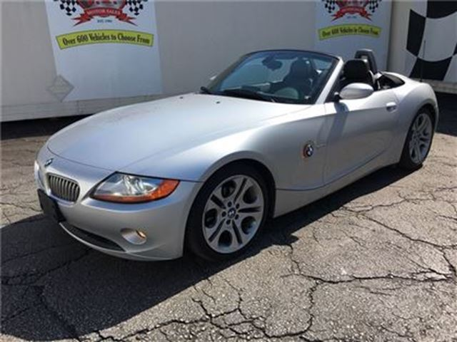 2003 BMW Z4 3.0i, Automatic, Leather, Navigation, Convertible in Burlington, Ontario