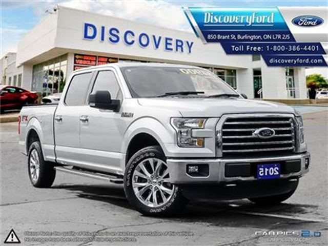 2015 Ford F-150 XLT 4X4 157 WB in Burlington, Ontario