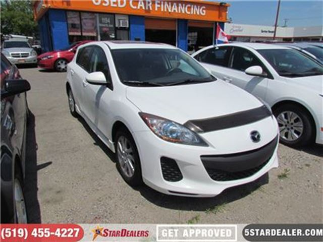 2012 MAZDA MAZDA3 GS   SPORT   SUNROOF   MANUAL in London, Ontario