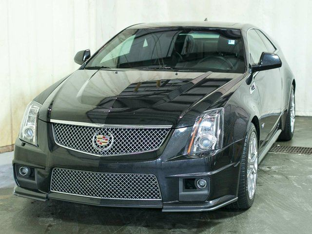 2012 Cadillac CTS V Coupe Manual w/ Navigation, Leather, Recaro Seats in Edmonton, Alberta