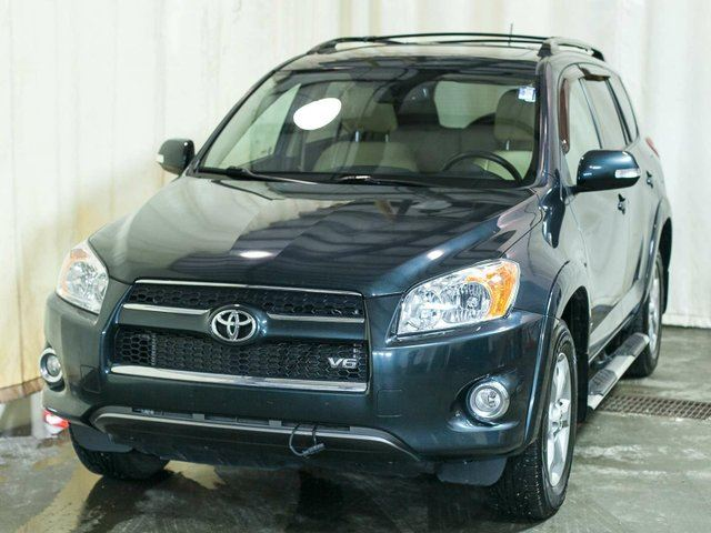 2011 TOYOTA RAV4 Limited V6 4WD w/ Remote Starter, Alloy Wheels, Sunroof in Edmonton, Alberta