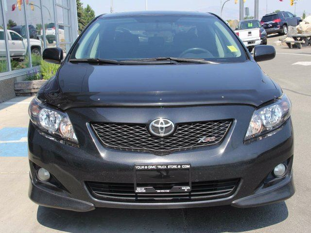 used 2009 toyota corolla xrs 4dr sedan kamloops. Black Bedroom Furniture Sets. Home Design Ideas