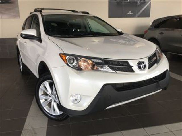 2014 TOYOTA RAV4 Limited Navigation Heated front seats in Red Deer, Alberta