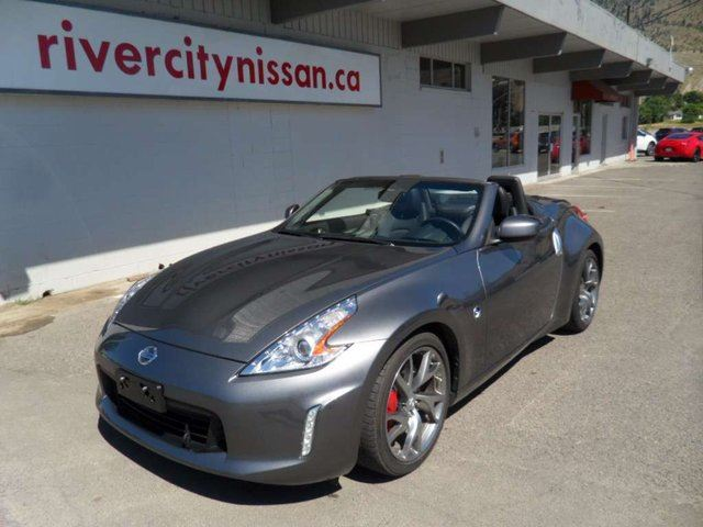 2016 NISSAN 370Z Sport Touring 2dr Rear-wheel Drive Roadster in Kamloops, British Columbia