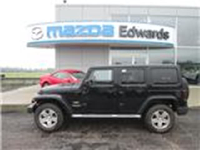 2011 Jeep Wrangler Unlimited Sahara in Pembroke, Ontario