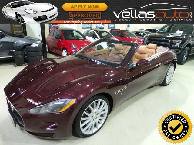 2011 MASERATI GRANTURISMO S Automatic S CONVERTIBLE| PADDLE-SHIFT in Vaughan, Ontario