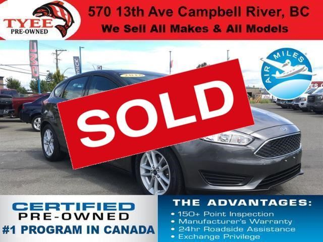 2016 Ford Focus SE in Campbell River, British Columbia