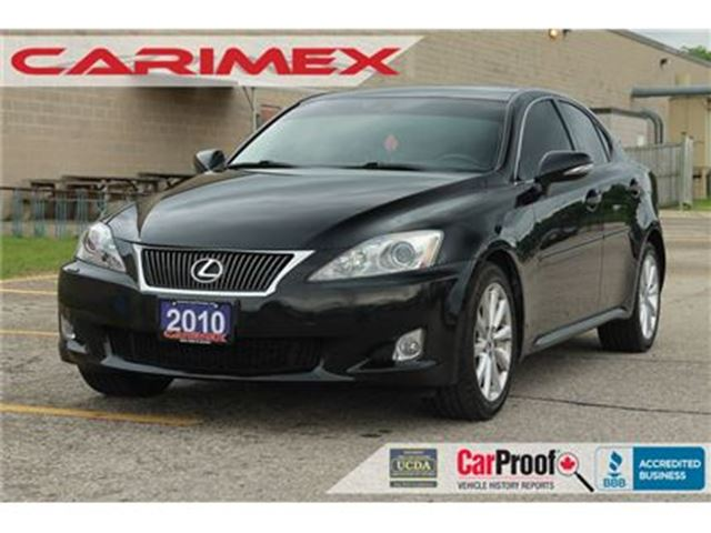 2010 LEXUS IS 250 Navi   Cooled Seats   Bluetooth in Kitchener, Ontario