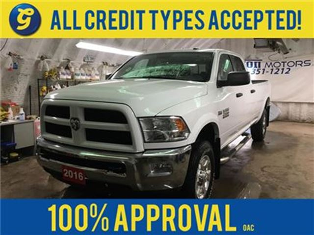 2016 Dodge RAM 2500 OUTDOORSMAN*4WD*CREWCAB*HEMI*SIDE STEPS*ALLOYS*RUG in Cambridge, Ontario